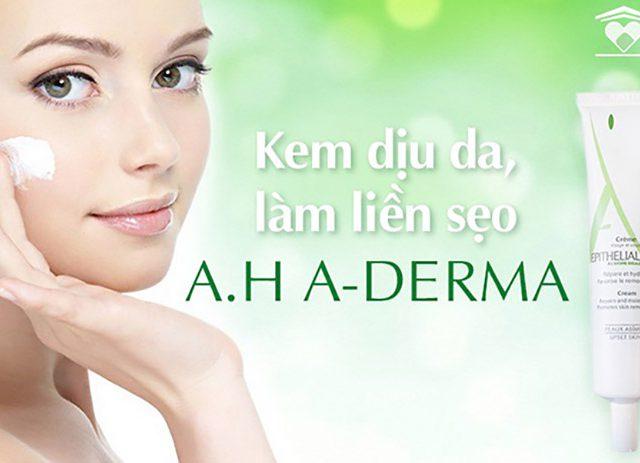 Kem trị sẹo Aderma Epitheliale AH có tốt không? Giá bao nhiêu?